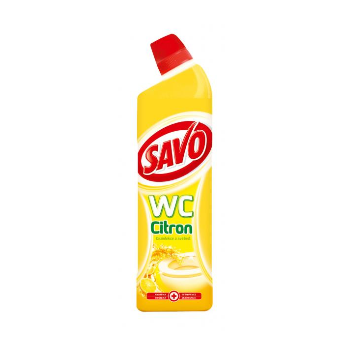 Savo WC čistič 750ml Citrón